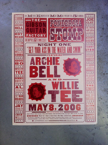 2006 Night One, Archie Bell & Willie Tee Poster