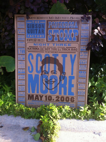 2006 Night Three, Scotty Moore Poster