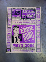 2006 Night Two, Eddie Bond Poster