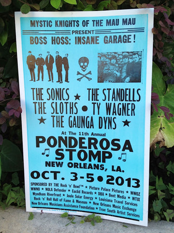 2013 Boss Hoss: Insane Garage Poster