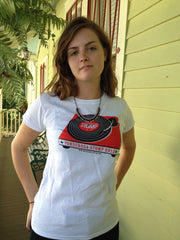 2013 Red & White Turntable T-shirt