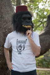 """I've Been Stomped"" Monkey T-Shirt"