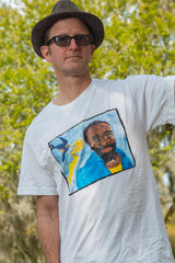 "2005 ""Ponderosa Stomp Allstars"" James ""Blood"" Ulmer T-Shirt"