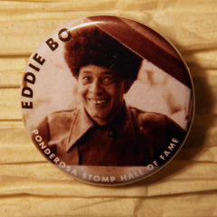 Eddie Bo Hall of Fame Ponderosa Stomp Artist Buttons
