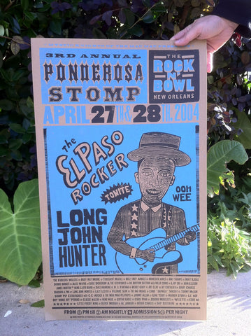 2004 Long John Hunter Poster