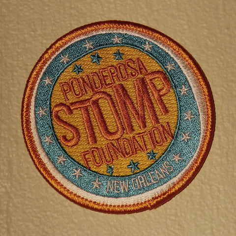 Ponderosa Stomp Foundation Iron-On Patch
