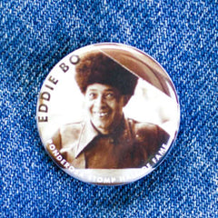 Eddie Bo Hall of Fame Ponderosa Stomp Artist Button