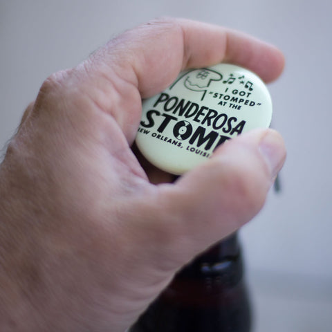 "I Got ""Stomped"" Glow-In-The Dark Bottle Opener"