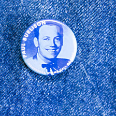 Paul Burlison Hall of Fame Ponderosa Stomp Artist Button