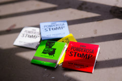 2015 Ponderosa Stomp Matchbooks