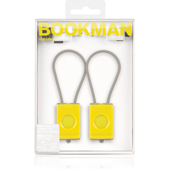 Bookman USB Light for Bikes packshot black