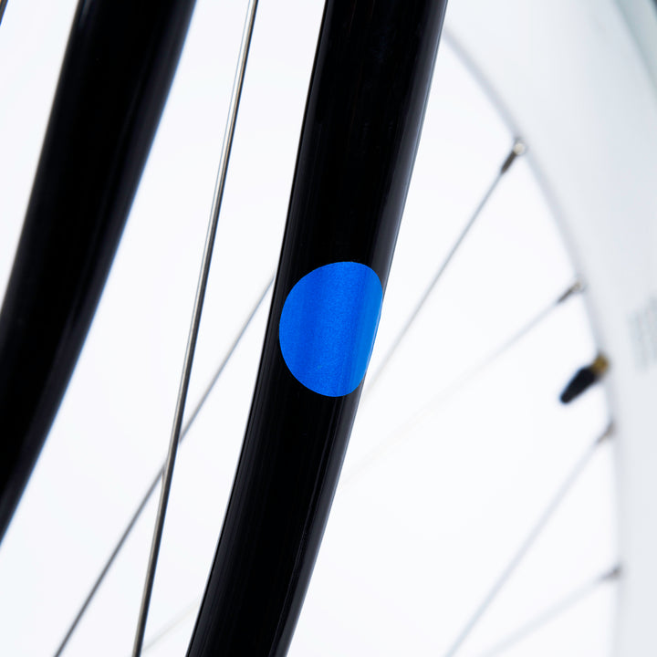 Reflective Dots Stickers for Bikes - Blue | BOOKMAN