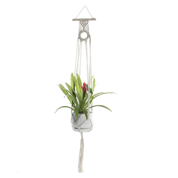 Pot de Fleurs Suspendu <br> Suspension Indienne