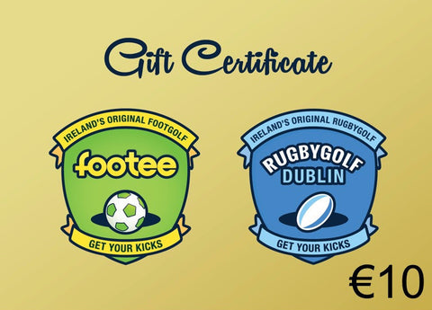 €10 footee Gift Voucher
