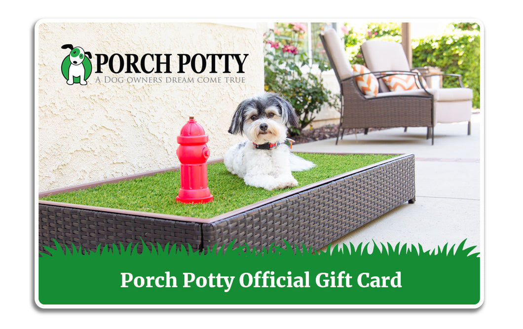 Porch Potty Gift Card