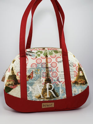 Renegade Travel Bag/Cotton/Paris