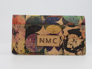Cork Checkbook Cover -Various Colors Available