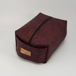 Cork Dopp Kit - Merlot
