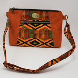 Sunshine Crossbody Bag - Pumpkin Cork/Native Themed