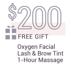 Spa gift package $200