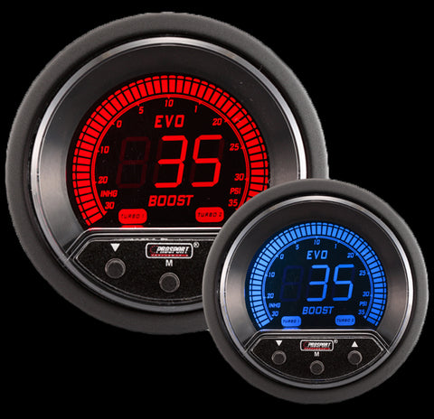 "2-1/16"" Evo Electrical Boost Controller gauge"