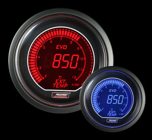 "2-1/16"" Evo Electrical Exhaust Gas Temperature Gauge-Celsius"