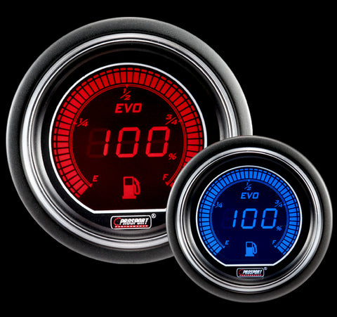 "2-1/16"" Evo Electrical Fuel Level Gauge"