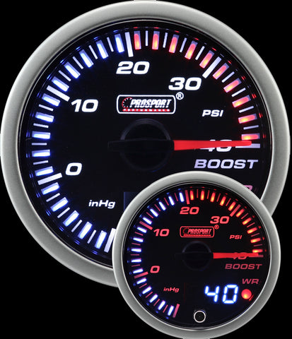 60mm JDM Electrical Boost Gauge