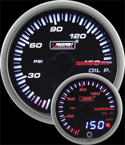 "2-3/8"" JDM Electrical Oil Pressure Gauge"
