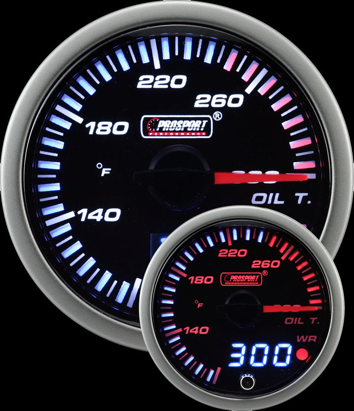 "2-1/16"" JDM Electrical Oil Temperature Gauge"