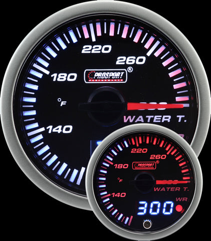 "2-1/16"" JDM Electrical Water Temperature Gauge"