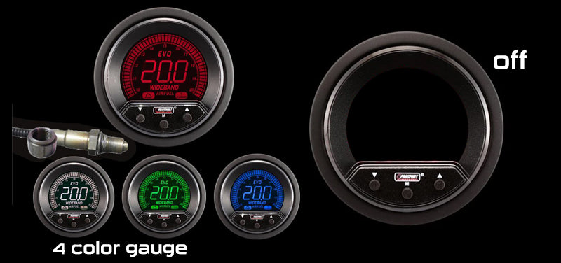 "2-1/16"" Premium EVO Wideband Digital Air Fuel Ratio kit"