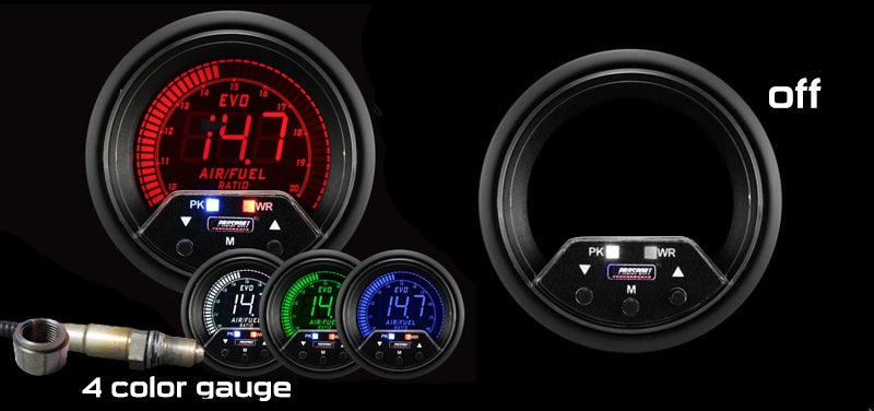 "2-3/8"" Premium EVO Wideband Digital Air Fuel Ratio kit"