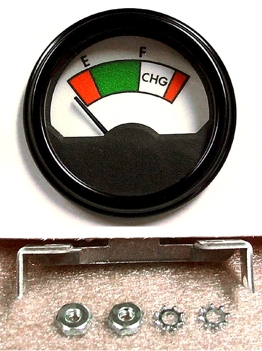 "2-1/16"" Golf Cart Battery Meter-state of Charge Meter 36 Volt"