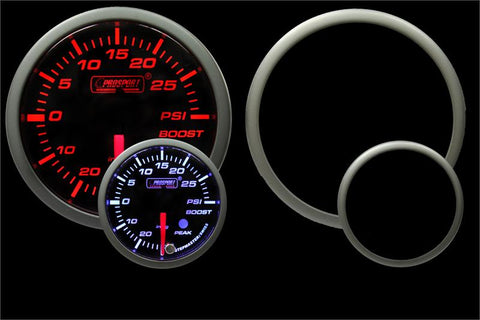 "Prosport Gauges Premium 60mm (2 3/8"") Boost Gauge"