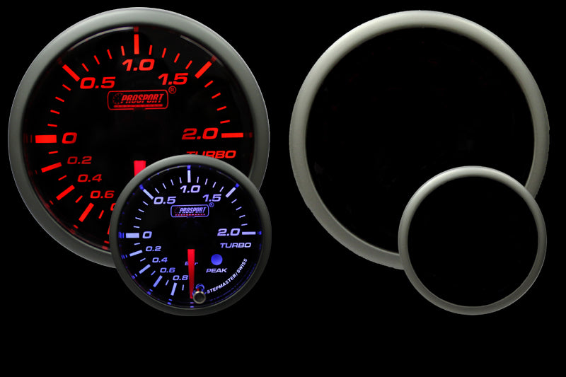 Premium Series Metric Boost Gauge