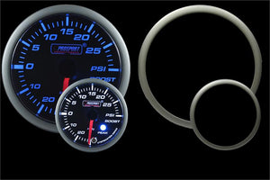 Prosport Premium Blue/White Electric Boost gauge