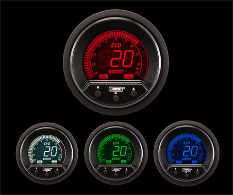 60mm Premium Evo Electrical Boost Gauge
