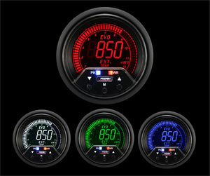 "2-3/8"" Premium Evo Electrical Exhaust Gas Temperature Gauge"