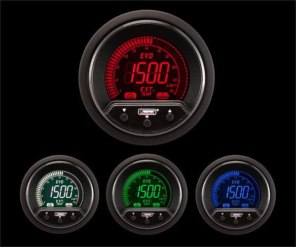 Electrical Blue//white Performance Series EGT 52mm 2 1//16 Exhaust Gas Temperature Gauge