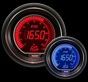 "2-1/16"" Evo Electrical Exhaust Gas Temperature Gauge"