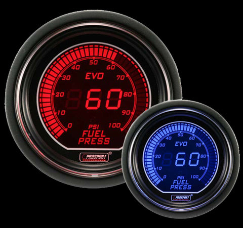 "2-1/16"" Evo Electrical Fuel Pressure Gauge"