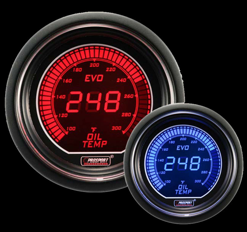 "2-1/16"" Evo Electrical Oil Temperature Gauge"