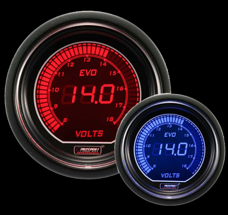 "2-1/16"" Evo Electrical Volt Gauge"