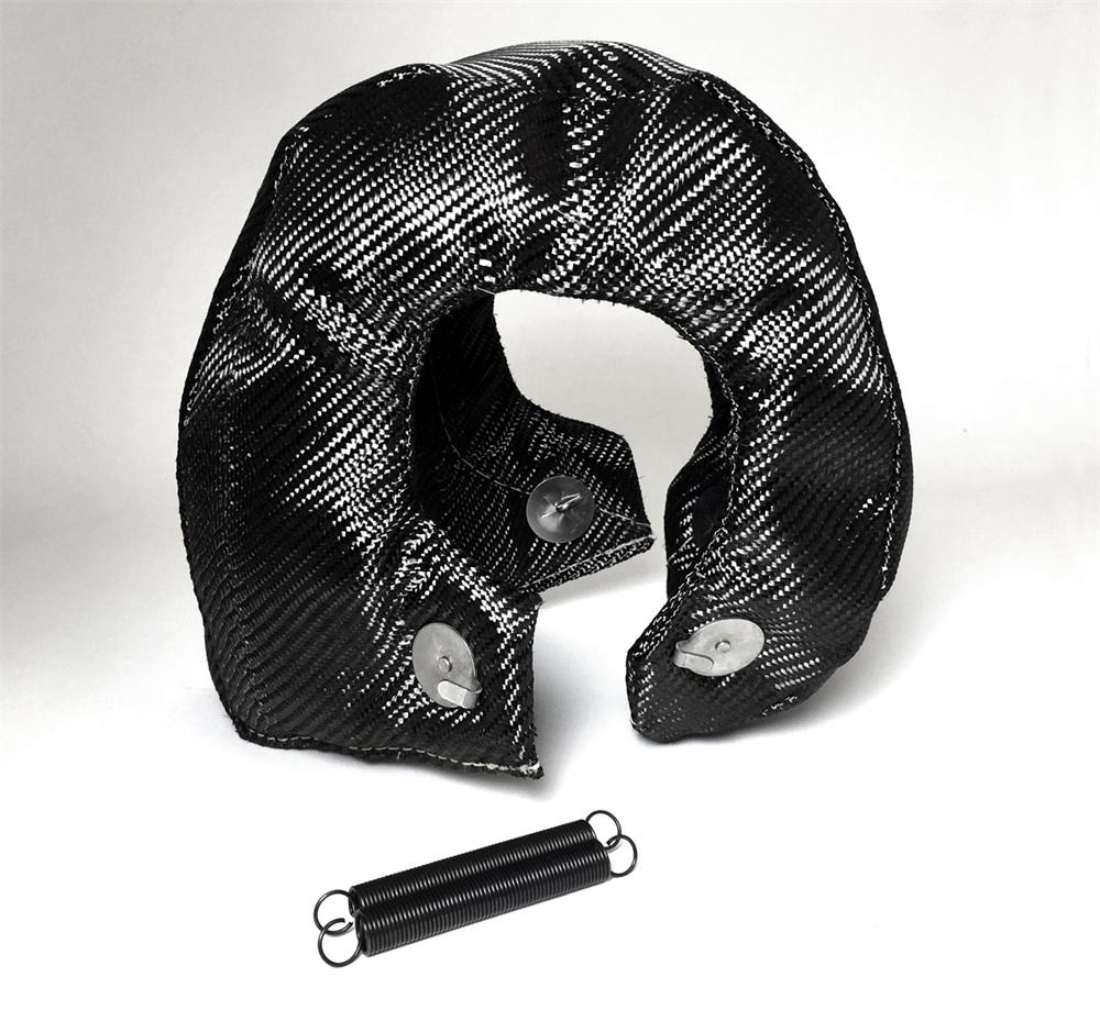 Turbo Blanket Heat Shield - Carbon Fiber T4