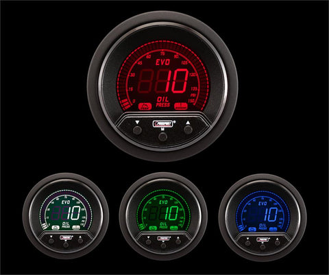 "2-1/16"" Premium Evo Electrical Oil Pressure Gauge"