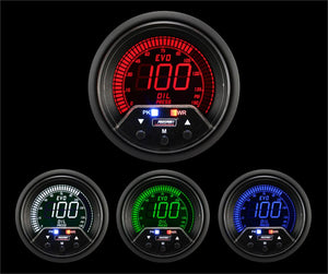 "2-3/8"" Premium Evo Electrical Oil Pressure Gauge"