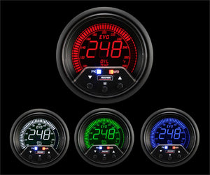 "2-3/8"" Premium Evo Electrical Oil Temperature Gauge"