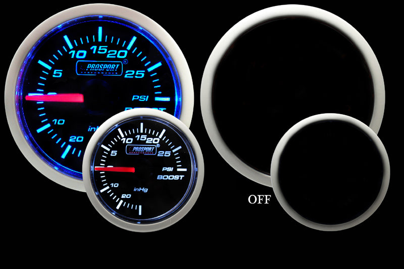 Prosport Gauges Performance Series Electric Boost Gauge
