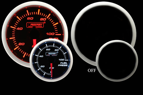Prosport Gauges Performance Fuel Pressure gauge 52mm